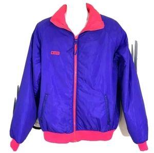 Vtg Mens Columbia Radial Sleeve Ski Jacket XLT
